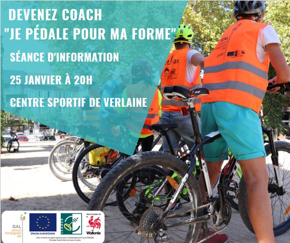 """Séance d'information """"Devenez coach JPPMF"""" @ Centre sportif de Verlaine"""