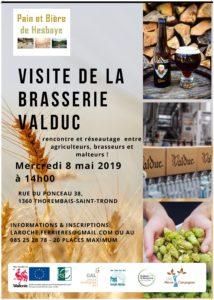Visite de la brasserie Valduc @ Brasserie Valduc