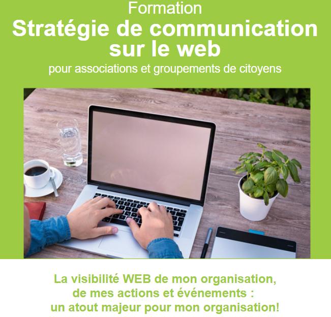 Formation « Stratégie de communication sur le WEB »