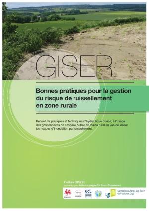 Catalogue des aménagements d'Hydraulique Douce par la cellule GISER (SPW)