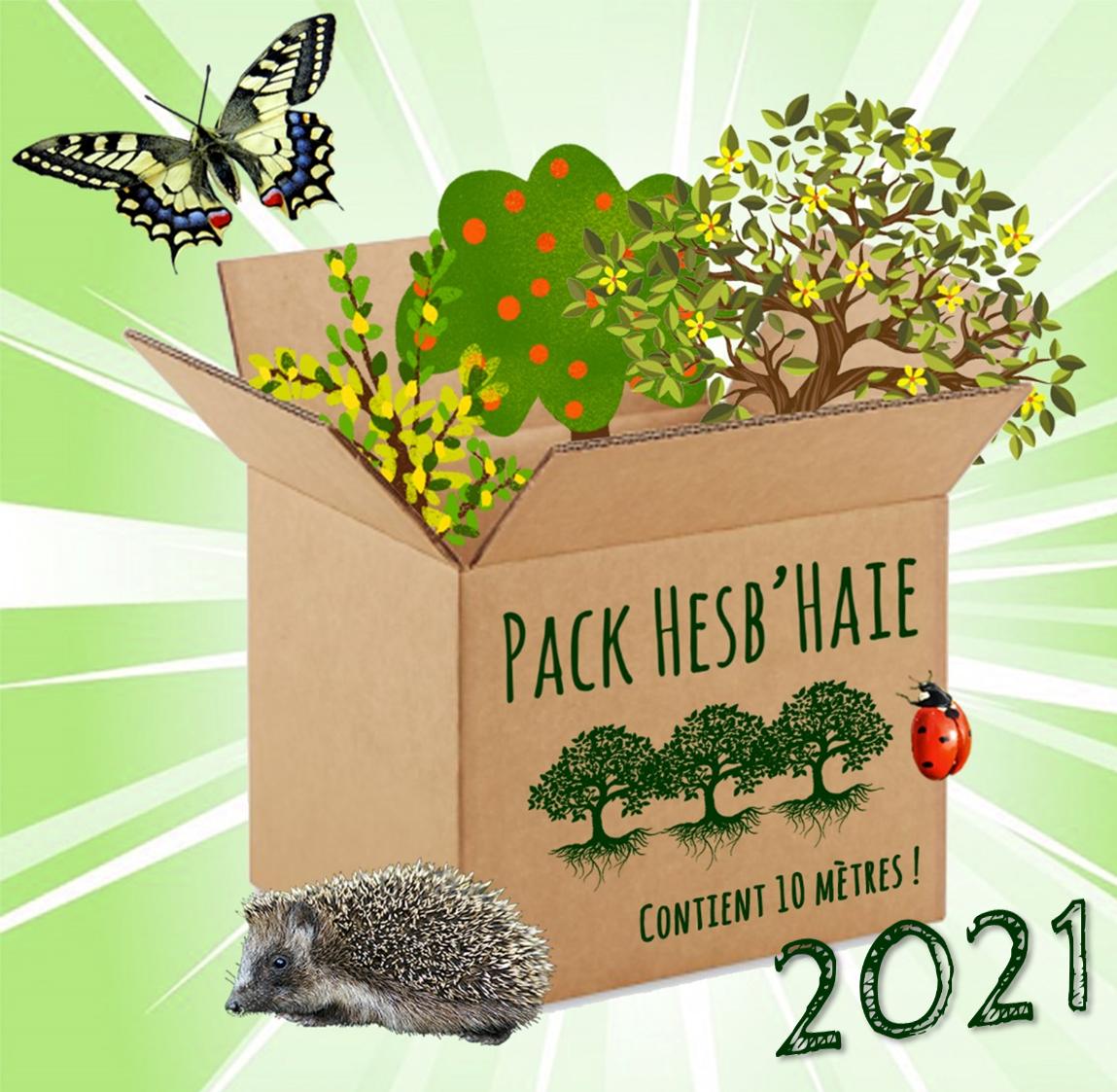 Ouverture des commandes du Pack Hesb'Haie 2021 !