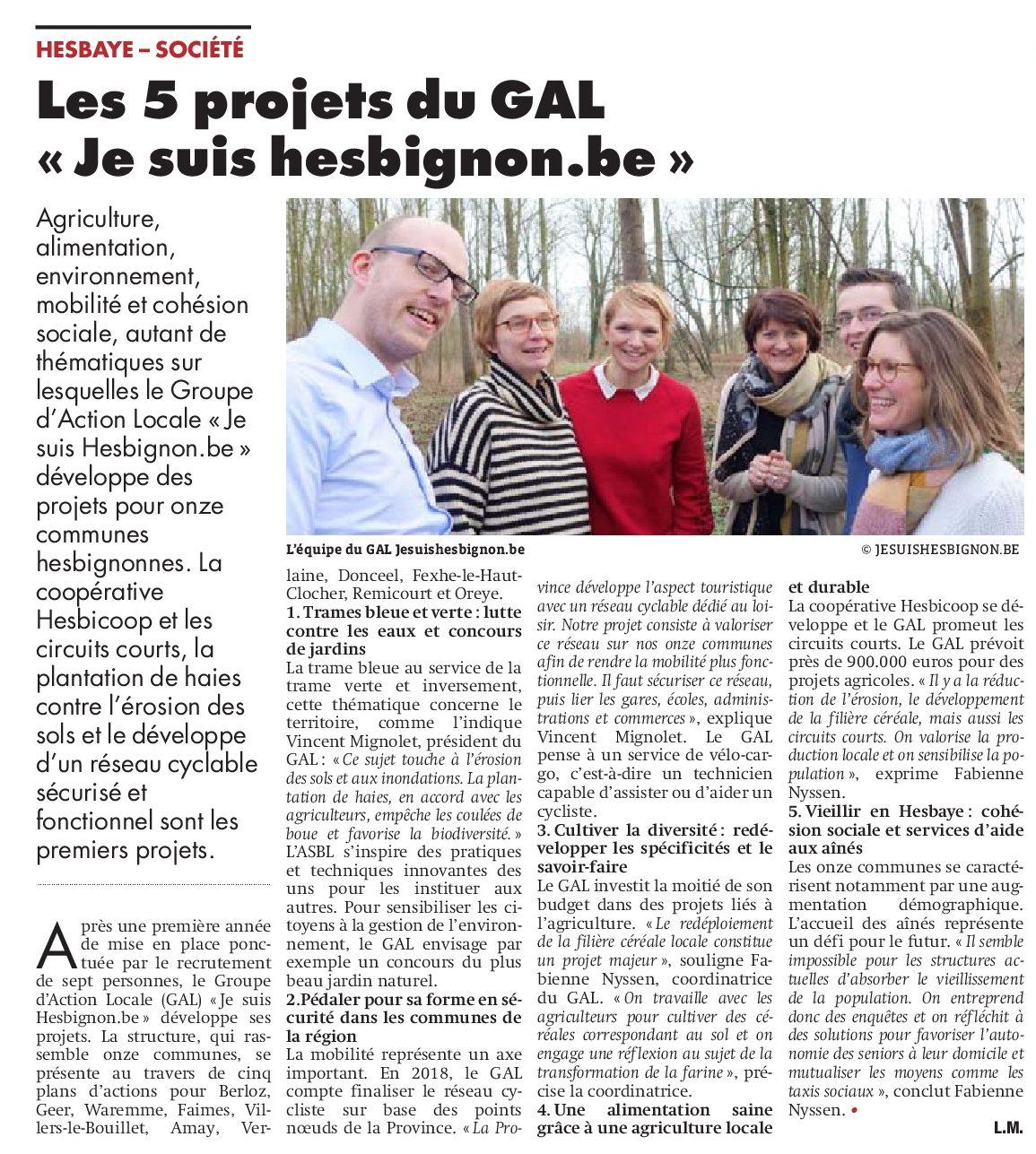 Les projets du GAL – Vlan