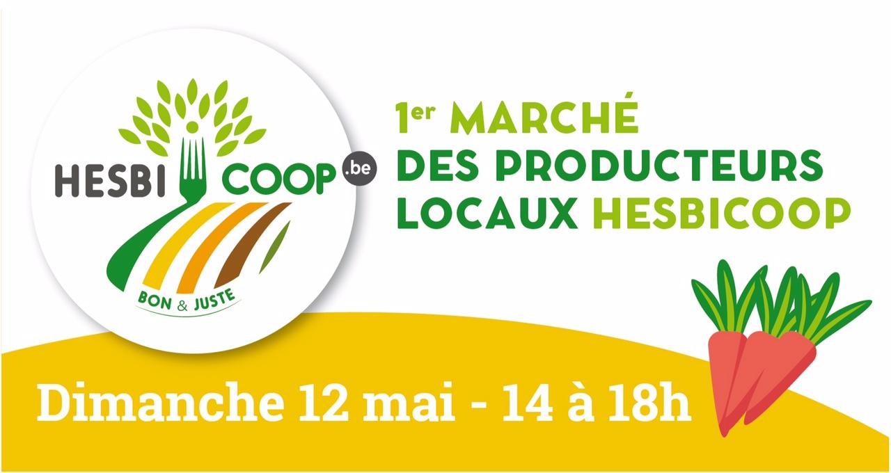 1er Marché de producteurs locaux le 12 mai à Hollogne-sur-Geer !