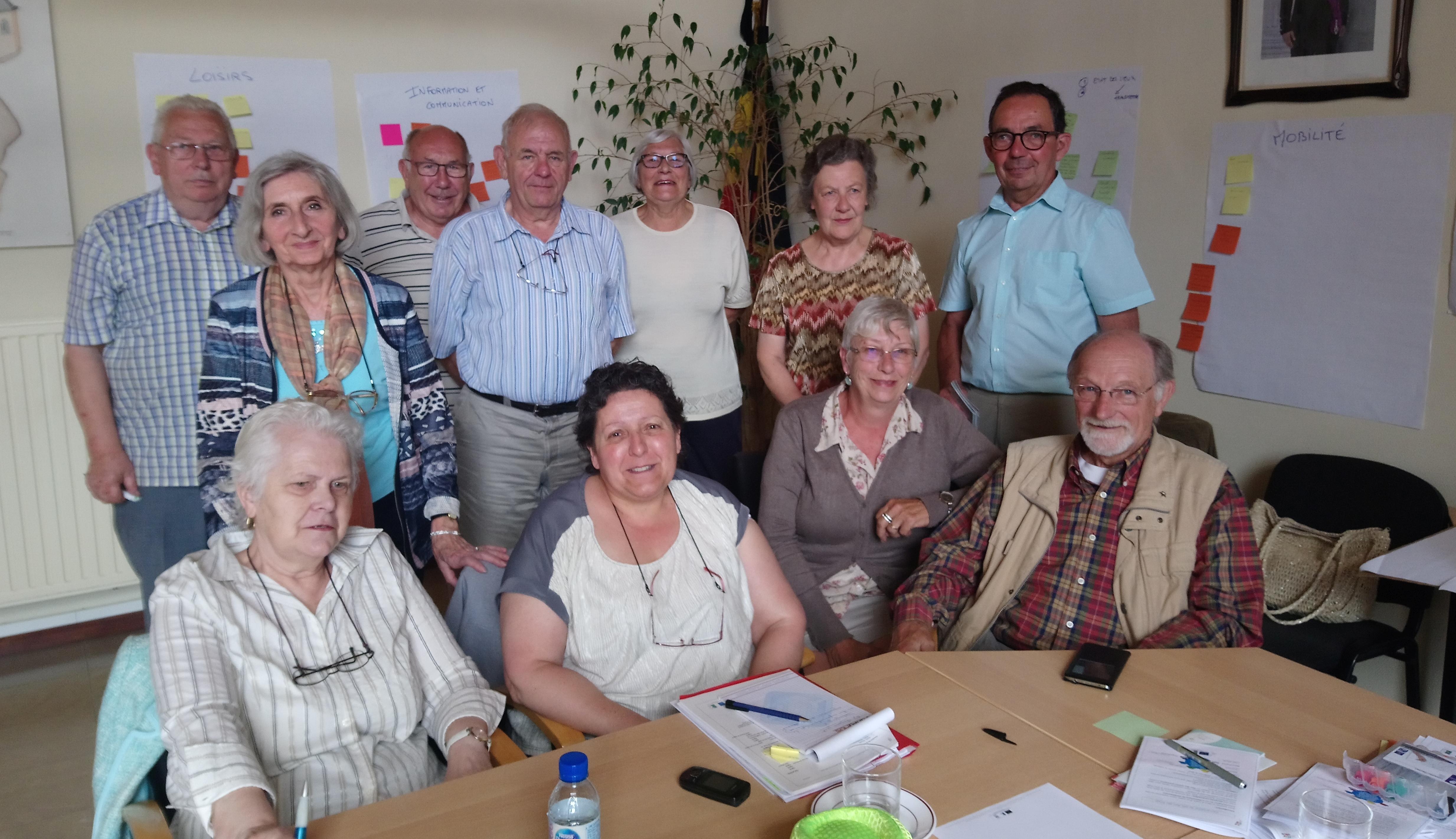 Des aînés de Hesbaye qui ont beaucoup de choses à dire et de belles idées!