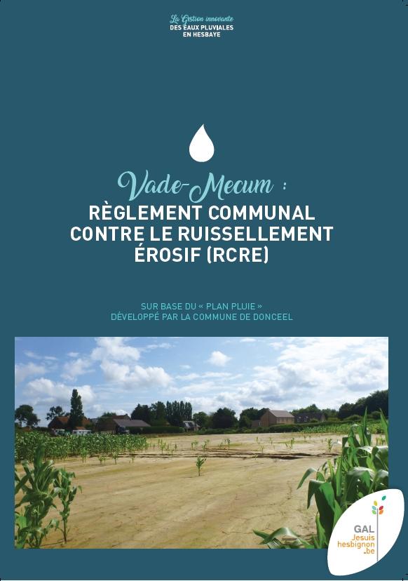 Règlement Communal contre le Ruissellement Érosif (RCRE)