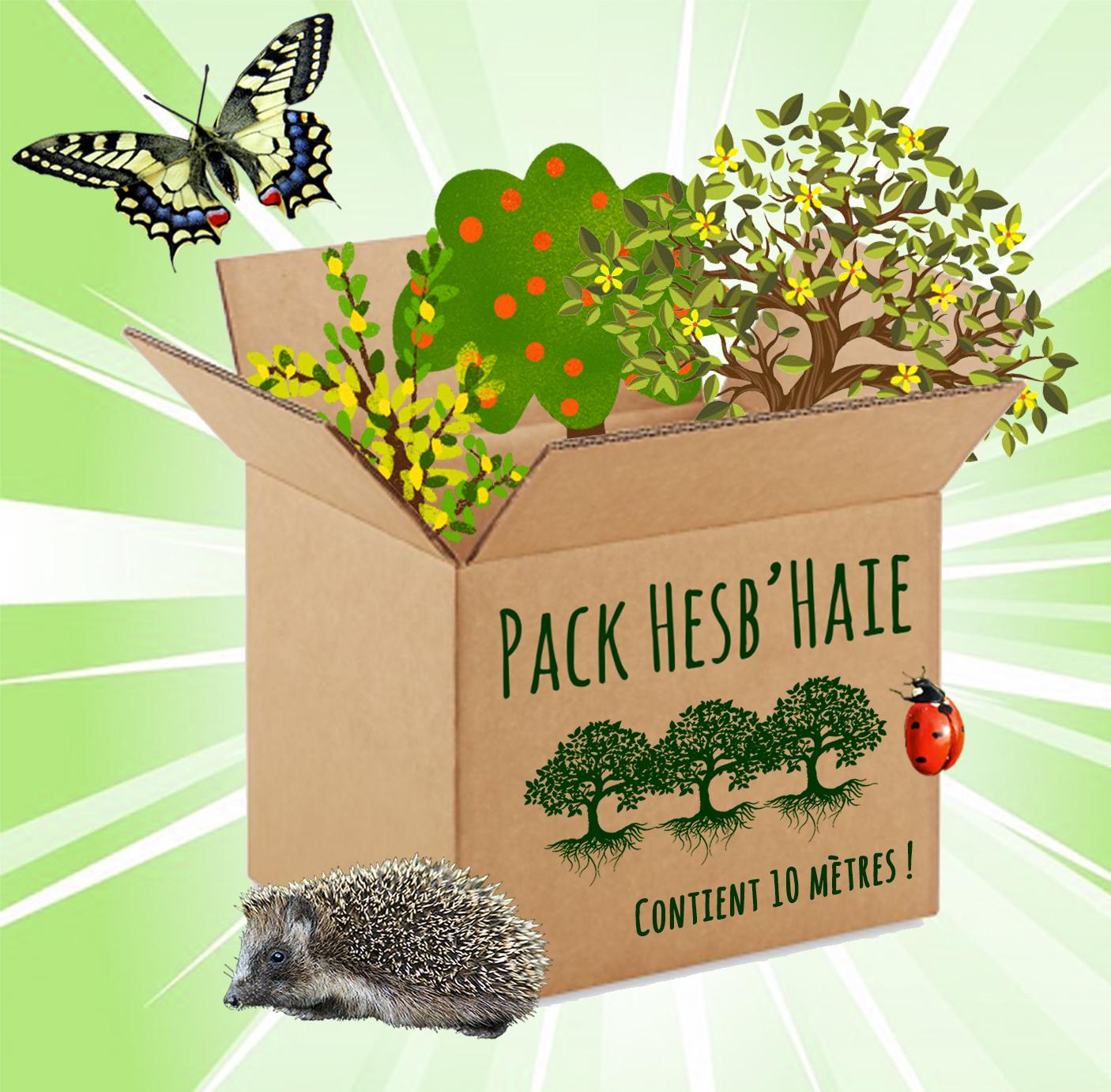 Commandez votre Pack Hesb'Haie