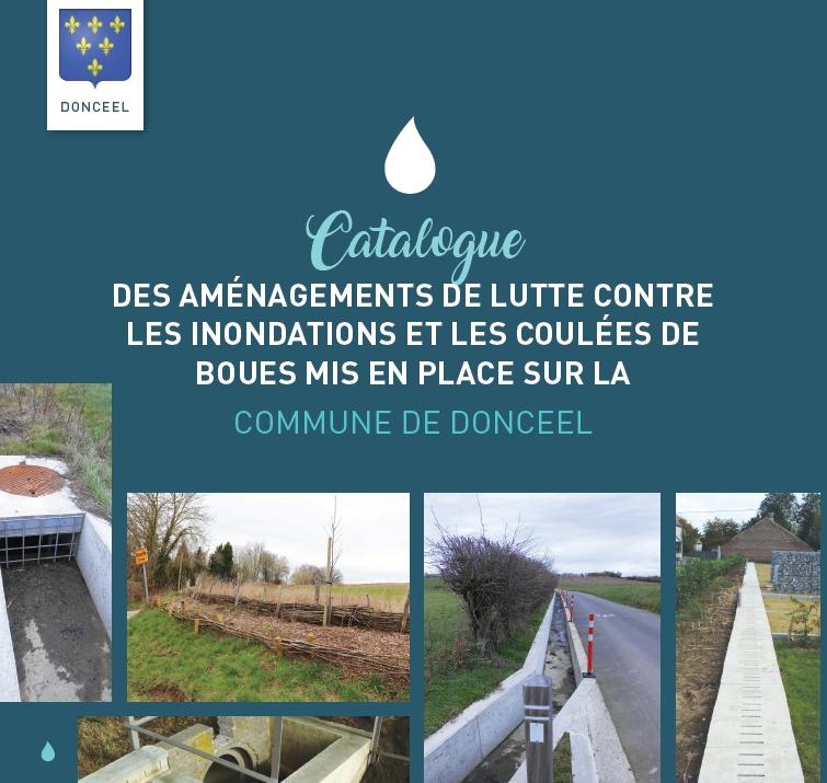 Catalogue des aménagements contre les coulées de boues à Donceel