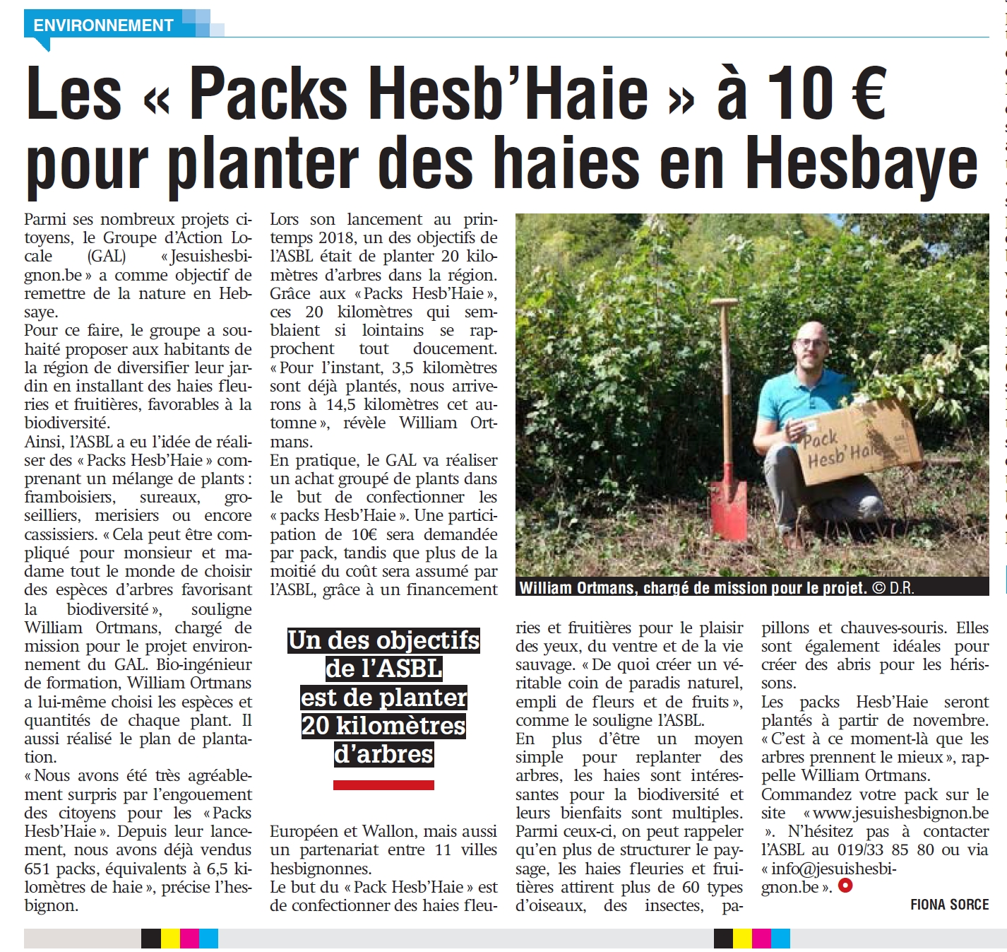 Le Pack Hesb'Haie dans La Meuse
